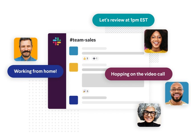Workplace collaboration tools, like Slack, Flock, Chanty, and the like, are great for keeping employees on task and in the loop